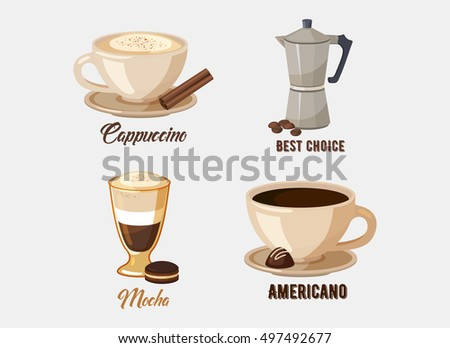Coffee infographic visual diagram layout template stock vector 440432254 shutterstock - Cool coffee cups that make a visual difference ...