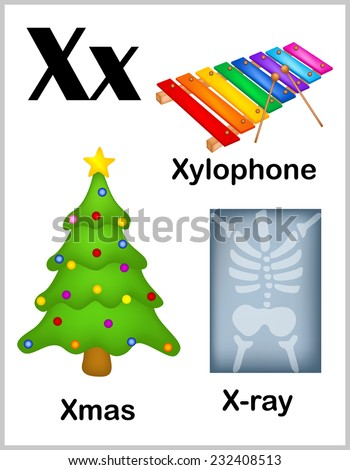 English Words Starting With The Letter X