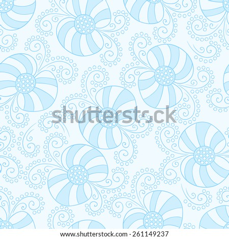 Cute bow vector seamless pattern.
