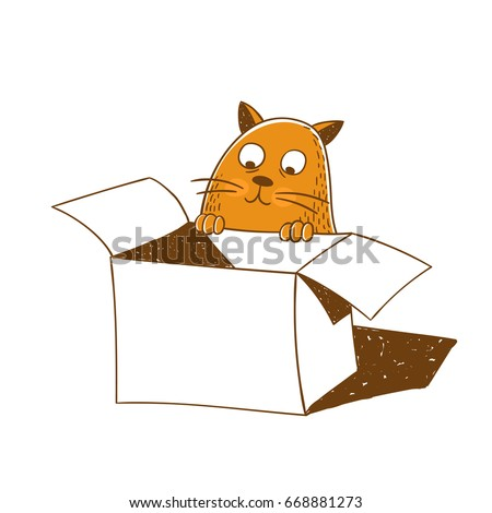 how to put a cat into a box