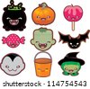 cute halloween - stock vector