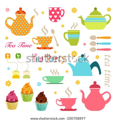 Cute tea party set