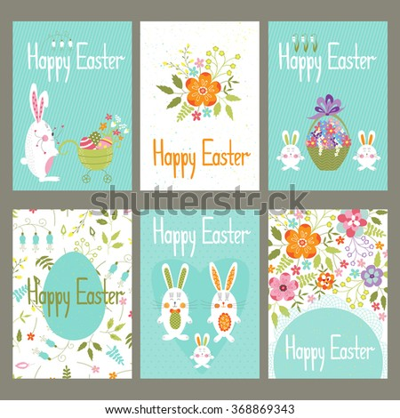 Images of cute easter vector labels fan set easter gift tags labels cute stock vector 577279081 negle Images