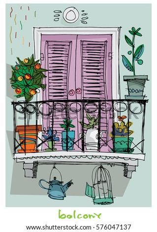 Lotus flowers art nouveau style seamless stock for Balcony cartoon