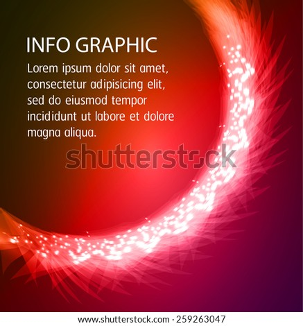 Dark colorful Light Abstract Technology background for computer graphic website internet and business. text box. Brochure. card.