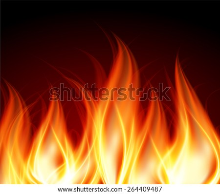 Dark orange red Abstract fire background.