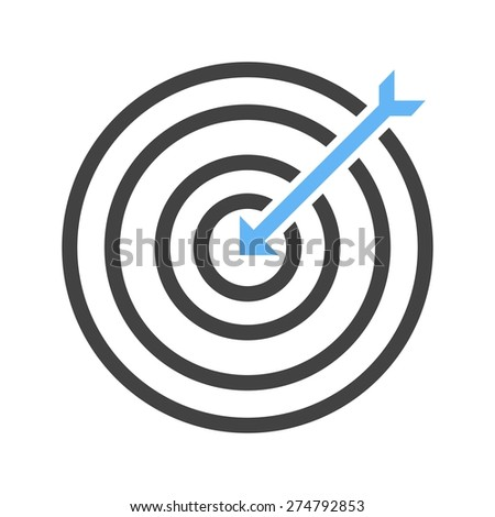 Darts, arrow, archery, dartboard, sports icon vector image. Can also be used for fitness, recreation. Suitable for web apps, mobile apps and print media.
