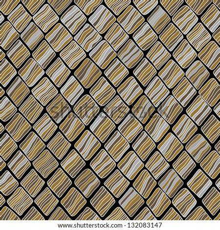 Decorative stylized neutral seamless texture. Abstract endless pattern. Template for design and decoration