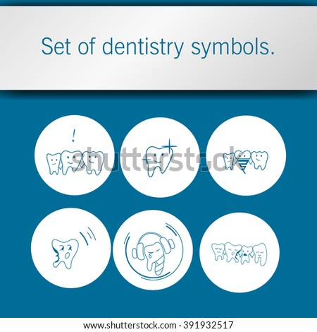 Teeth infographic template blueprint style stock vector 486345184 dental care icon set dental service tooth icons teeth whitening and cleaning symbol malvernweather Gallery