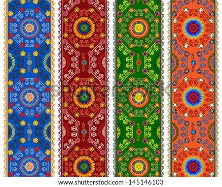 henna inspired banners borders - photo #7