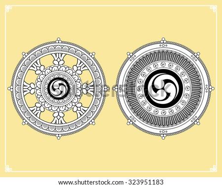 Reincarnation Buddhism Symbol 1000 Images About Symbols 6 Spoke