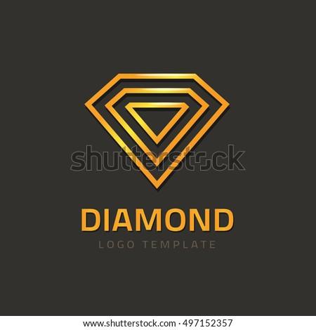 Diamond Logo Stock Vector 524546212 - Shutterstock