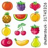 Different types of delicious fruits. To see similar, please VISIT MY PORTFOLIO