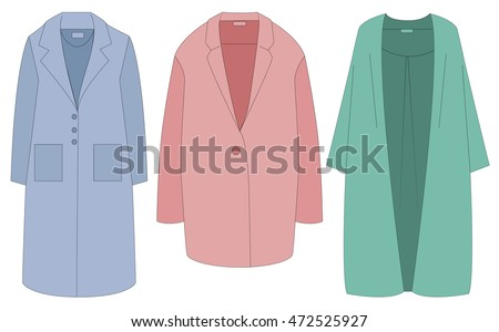 Shorts Woman Fashion Set Vector Template Stock Vector ...