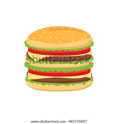 how to make flat hamburger buns