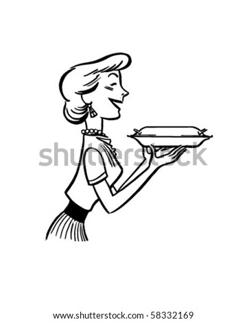 Displaying (20) Gallery Images For 50s Diner Waitress Clipart...