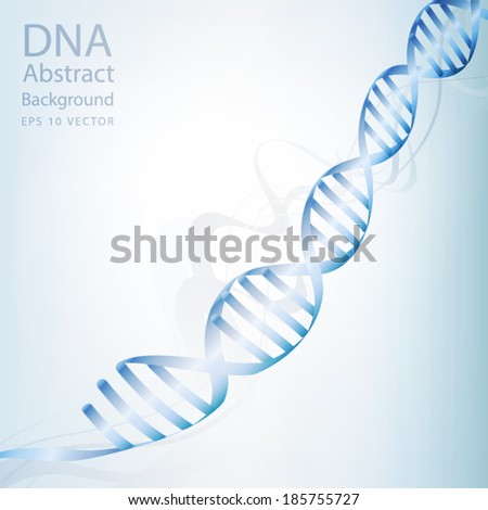 dna abstract light white colour background eps 10 vector