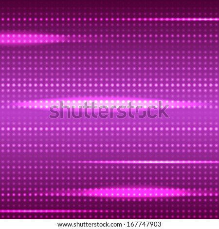 Dotted pink light stripes vector background