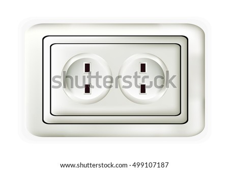 Double horizontal socket