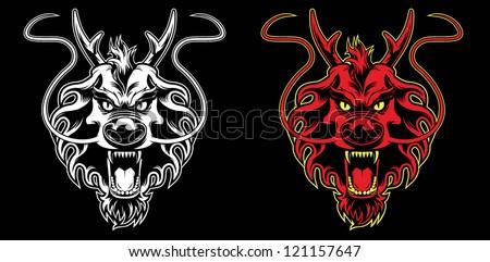 Deer Skull Rifle Stock Vector 215583292 - Shutterstock