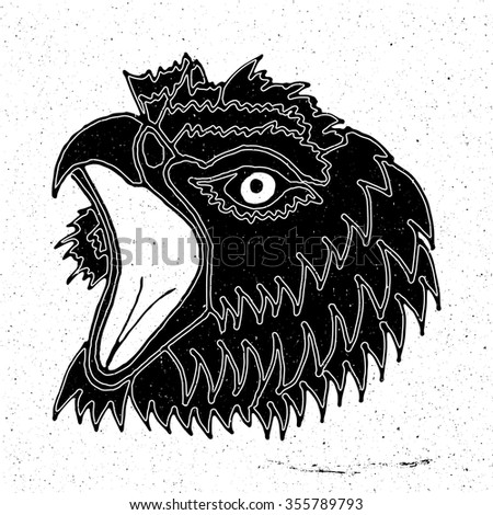 cat head graphic design vector animal stock vector 223462030 shutterstock. Black Bedroom Furniture Sets. Home Design Ideas