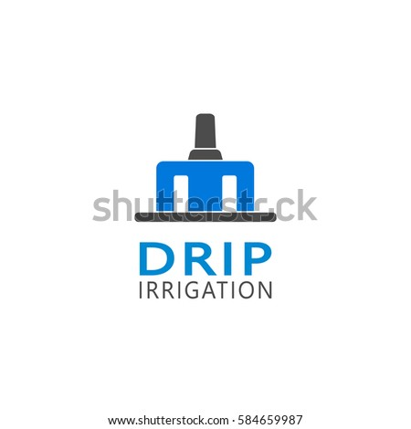 Vector icons drippers watering irrigation systems stock - Logo lavage machine ...