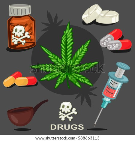 narcotic drugs Narcotic - a drug that produces numbness or stupor often taken for pleasure or to reduce pain extensive use can lead to addiction drug - a substance that is used as a medicine or narcotic hard drug - a narcotic that is considered relatively strong and likely to cause addiction.
