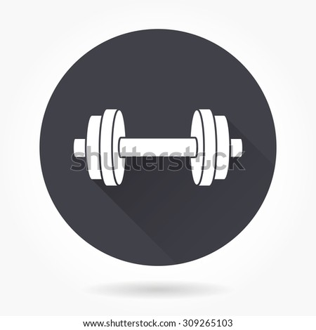 Dumbbell Icon Vector Dumbbell Icons ...