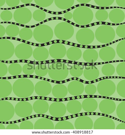 Duplicate background in peas in green color
