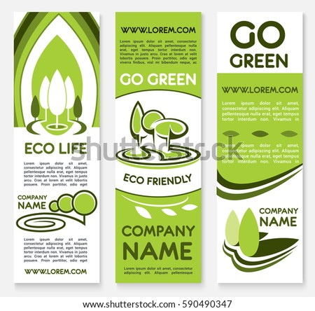 Poster Banner Background Set Earth Hour เวกเตอร์สต็อก