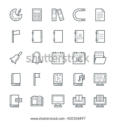 Education Cool Vector Icons 2