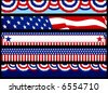Election Web Banners. Layered .eps file for easy editing - stock vector
