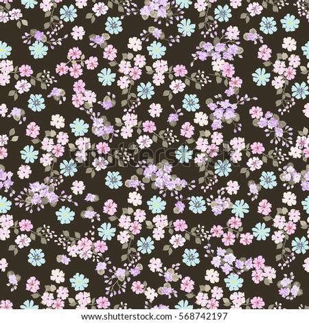 Gift Wrap Gentle Flower 86