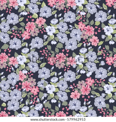 Gift Wrap Gentle Flower 62