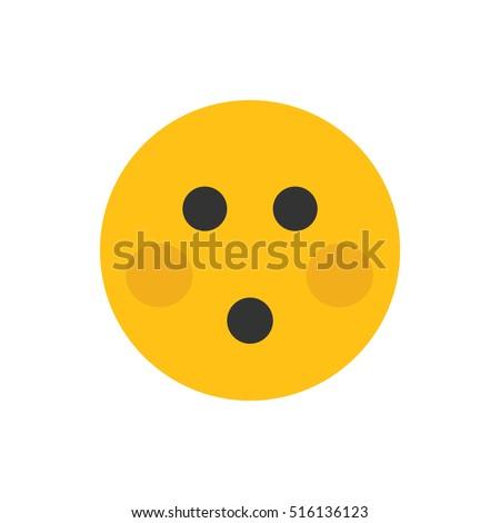 Embarrassed emoji text