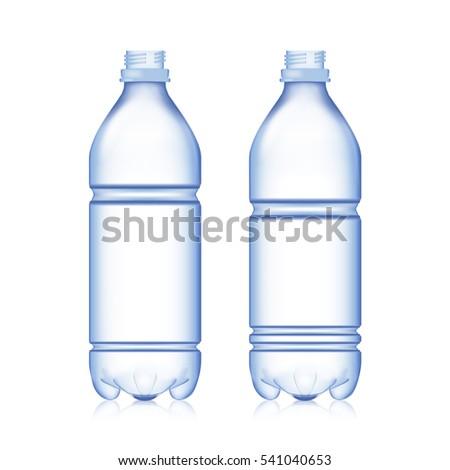 Illustrated Water Bottle No Label Stock Illustration 114738856 ...