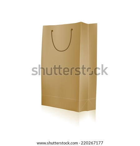 Set Colorful Empty Shopping Bags Isolated Stock Vector 569818330 ...
