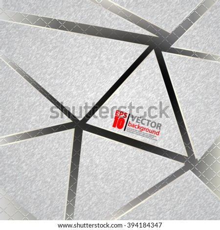 eps10 vector abstract geometric composition fiber metallic texture background