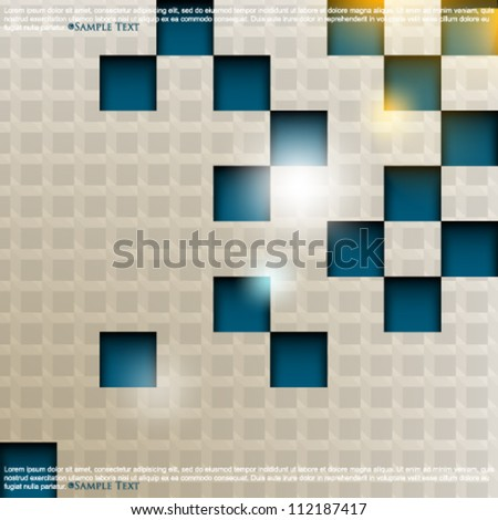 eps10 vector 3d cube pattern background
