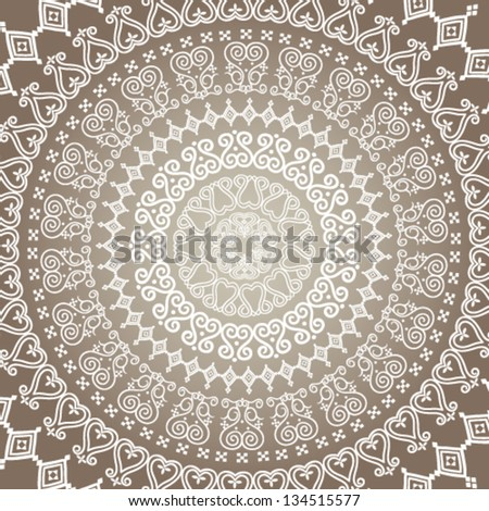 Ethnic ornament. Background with traditional patterns.