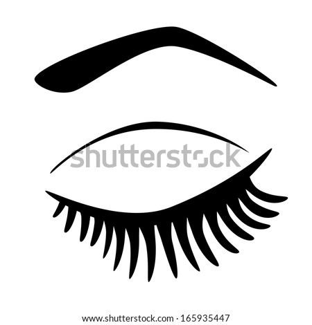 eyelashes coloring pages - photo#20