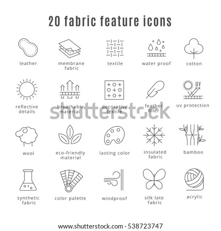 Variety Human Resource Icons Isolated On Stock Vector