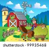 Farm theme image 6 - vector illustration. - stock vector