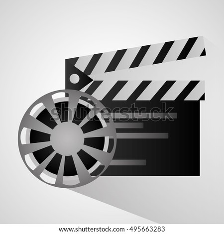 Film reel and movie design
