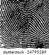 Fingerprint details - stock photo