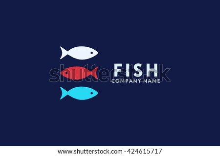 Fish icon stock vector 126689183 shutterstock for Www plenty of fish sign in