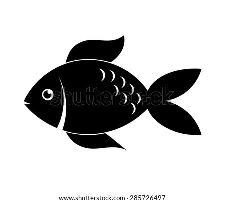 Fish Icon Stock Vector...