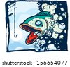 Fish Story - stock vector