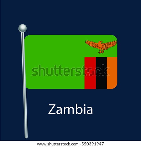 flag icon,zambia flag