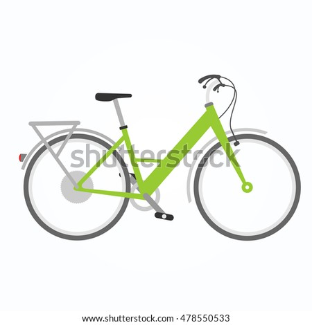 Flat Bicycle